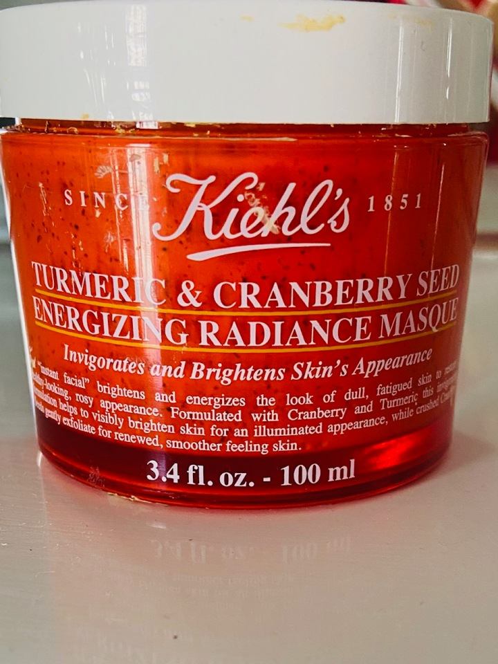 Kiehl's Turmeric & Cranberry Seed Energising Radiance Masque